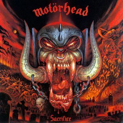 MOTORHEAD - Sacrifice / CD