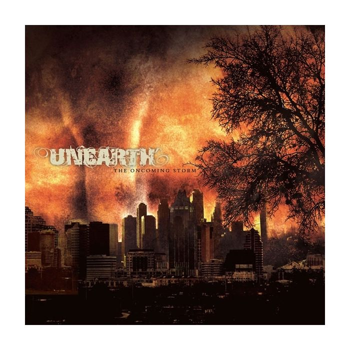 UNEARTH - The Oncoming Storm / Gold/Black split LP