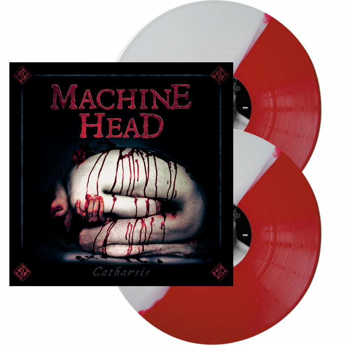 MACHINE HEAD - Catharsis / Red White split 2LP