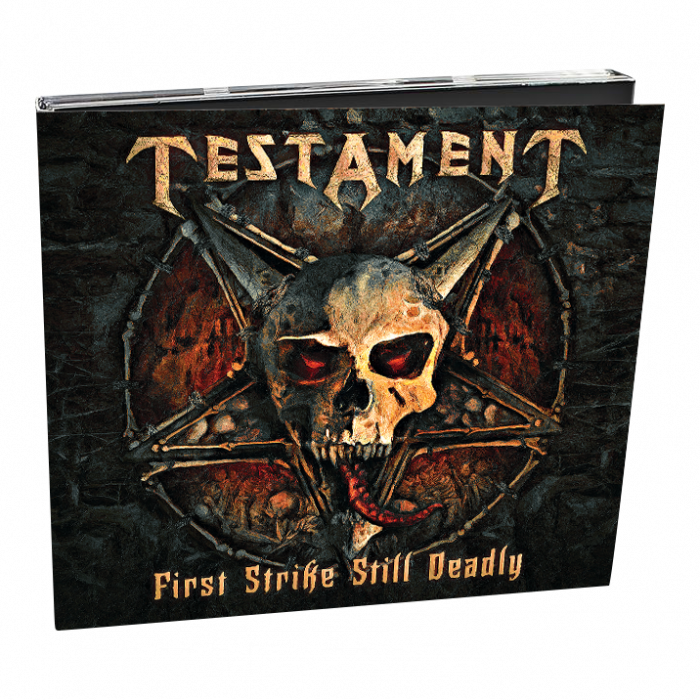 TESTAMENT - First Strike Still Deadly / Digipack