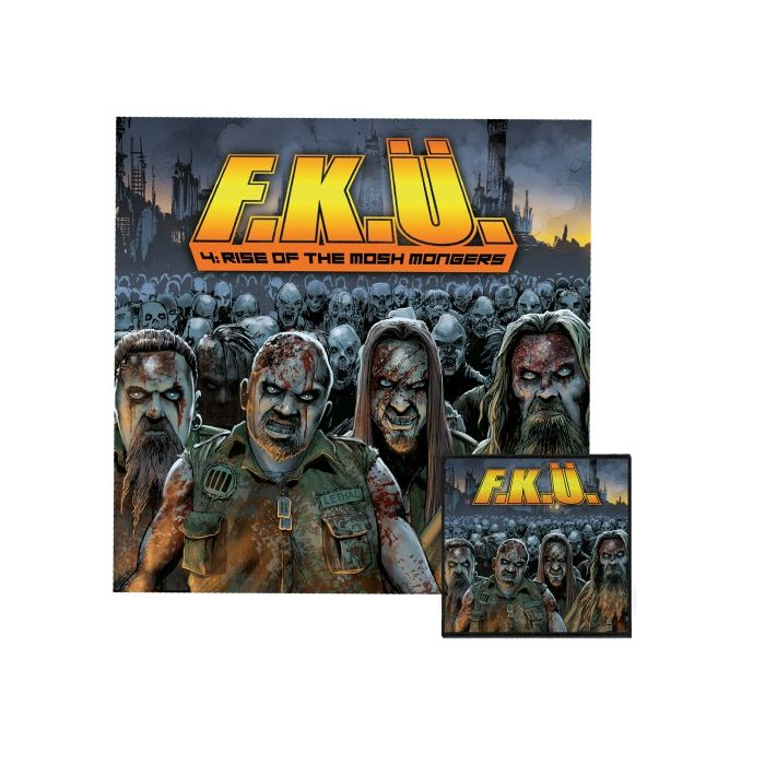 F.K.Ü. - 4: Rise Of The Mosh Mongers/Digipack Limited Edition CD
