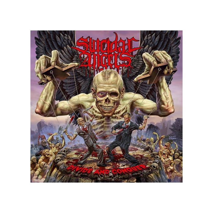 SUICIDAL ANGELS - Divide And Conquer/Digipack Limited Edition CD