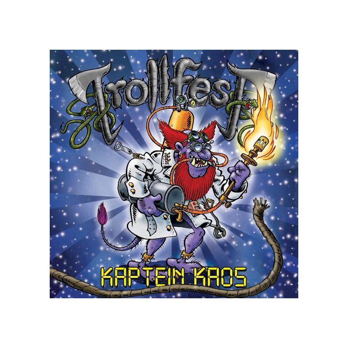 TROLLFEST - Kaptein Chaos/Digipack Limited Edition CD + Bonus DVD