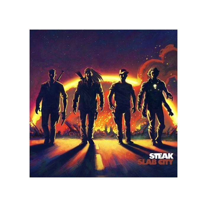 STEAK - Slab City/Digipack Limited Edition CD