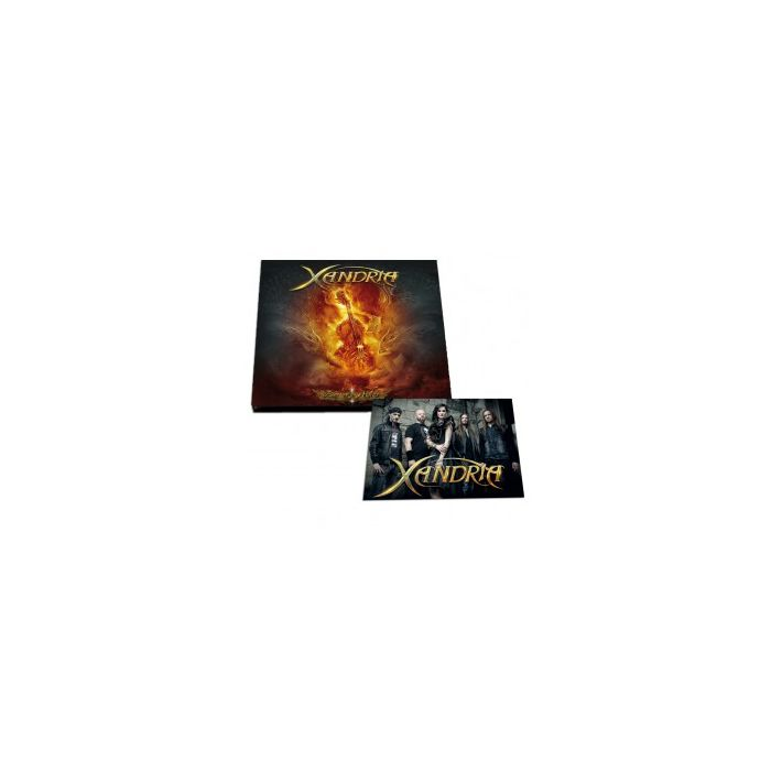 XANDRIA-Fire & Ashes/Digipak Limited Edition CD EP