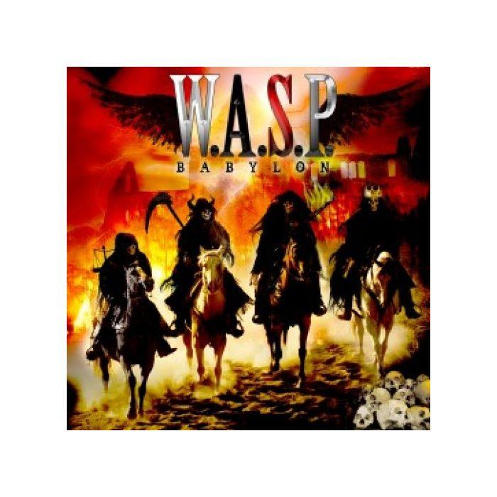 W.A.S.P. - Babylon/Limited Edition WHITE Vinyl Gatefold