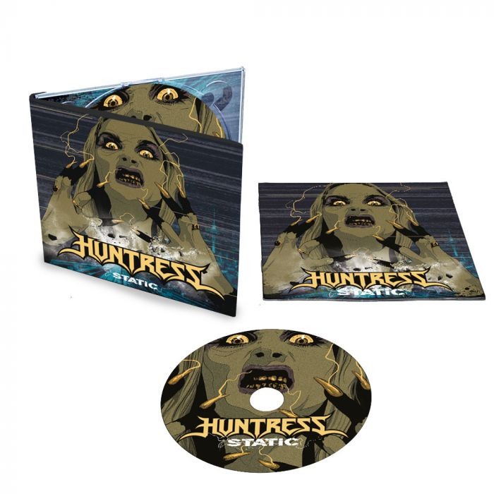 HUNTRESS-Static/Digipack Limited Edition CD