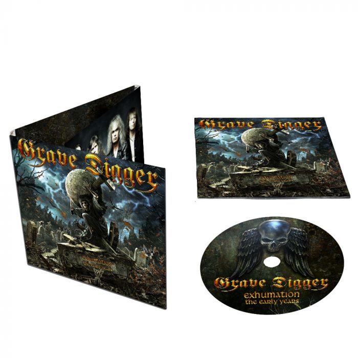 GRAVE DIGGER-Exhumation - The Early Years/Limited Edition Digipack CD