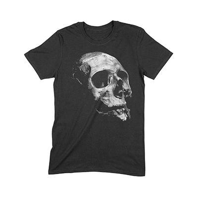 Thinking Man Skull by 24wear
