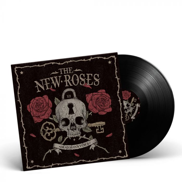 THE NEW ROSES-Dead Man's Voice/Limited Edition BLACK Vinyl Gatefold LP