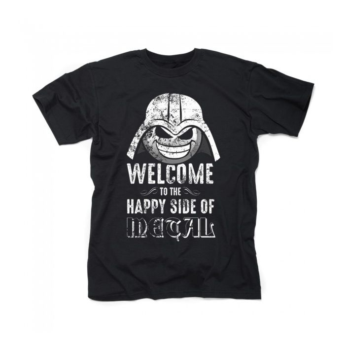 HEAVY METAL HAPPINESS-Welcome To The Happy Side Of Metal/T-Shirt