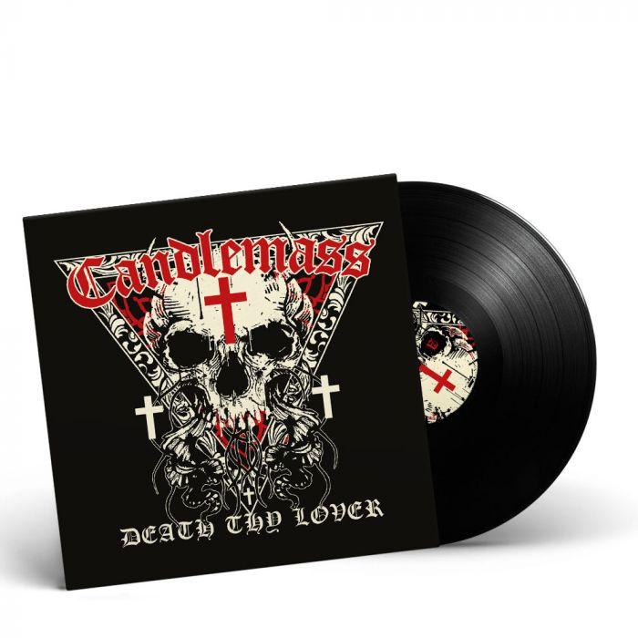 CANDLEMASS-Death Thy Lover/Limited Edition BLACK Gatefold Vinyl LP