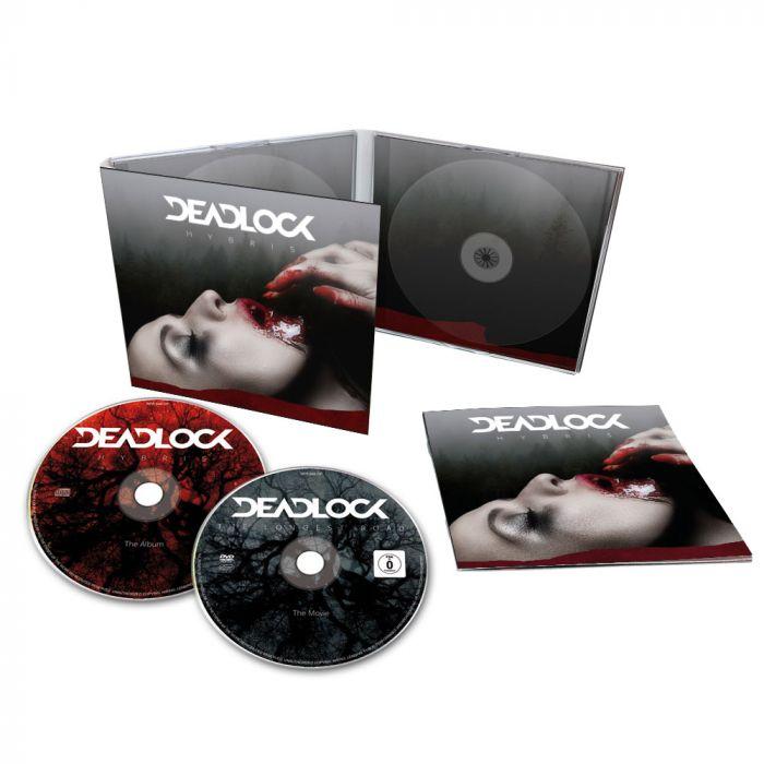 DEADLOCK-Hybris/Limited Edition CD + DVD Digipack