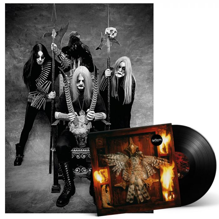 SATYRICON-Nemesis Divina/Limited First Edition BLACK Gatefold Vinyl LP