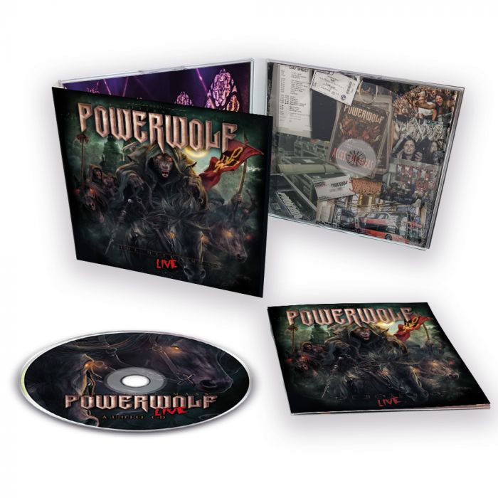 POWERWOLF-The Metal Mass/Limited Edition Digipack CD