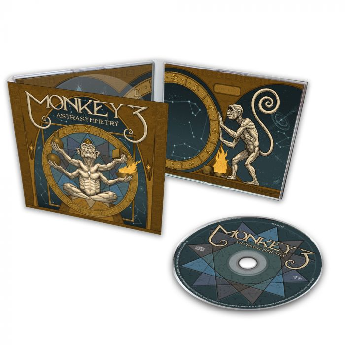 MONKEY3-Astra Symmetry/Limited Edition Digipack CD