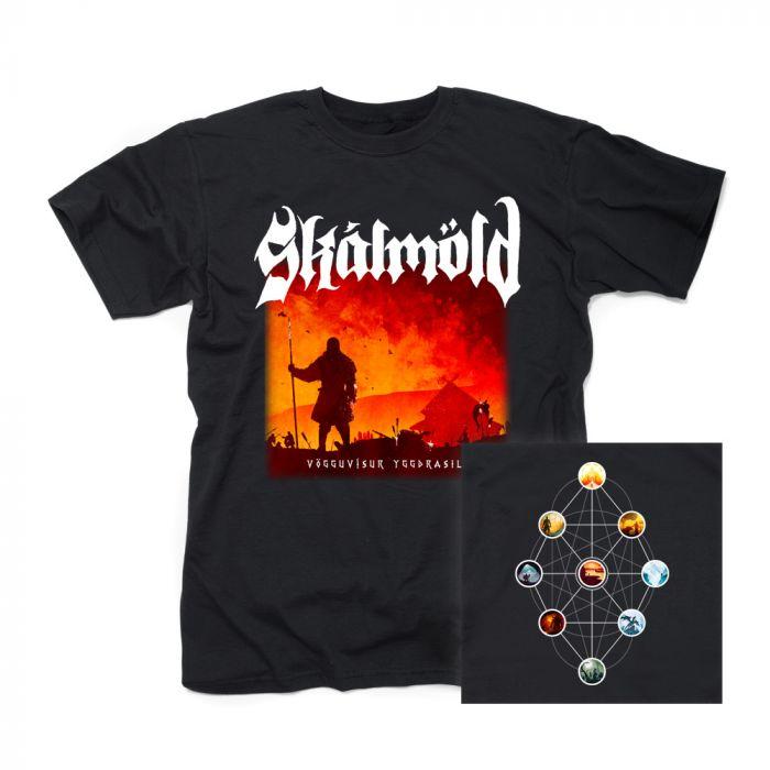 SKALMOLD-Vögguvísur Yggdrasils/T-Shirt