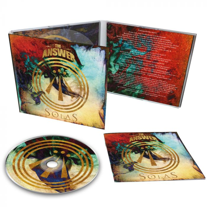 THE ANSWER-Solas//Limited Edition Digipack CD