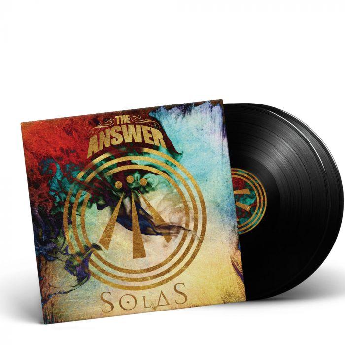 THE ANSWER-Solas//Limited Edition BLACK Gatefold Vinyl 2LP
