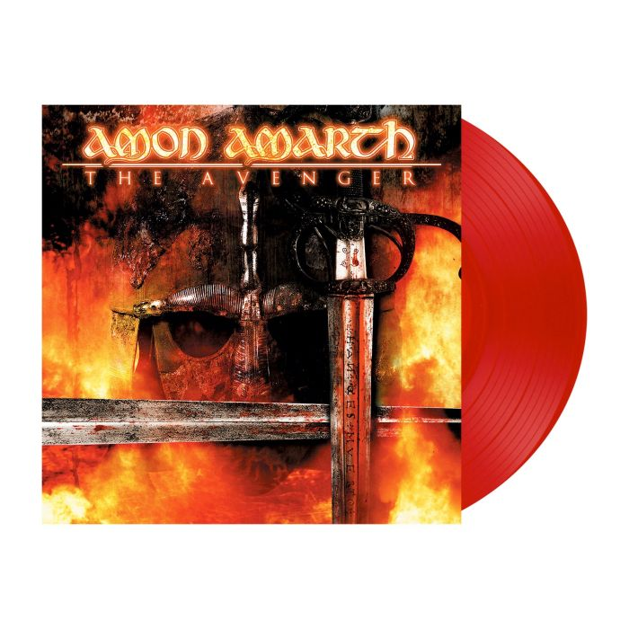 AMON AMARTH - The Avenger / Red LP