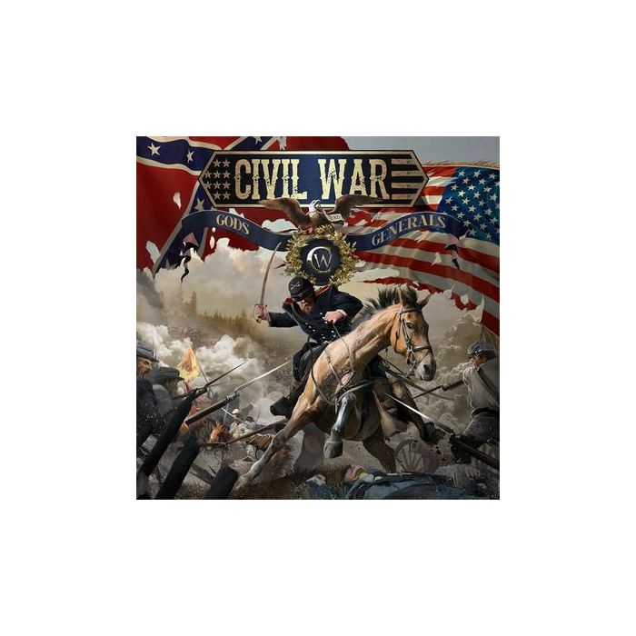 CIVIL WAR-Gods And Generals/CD