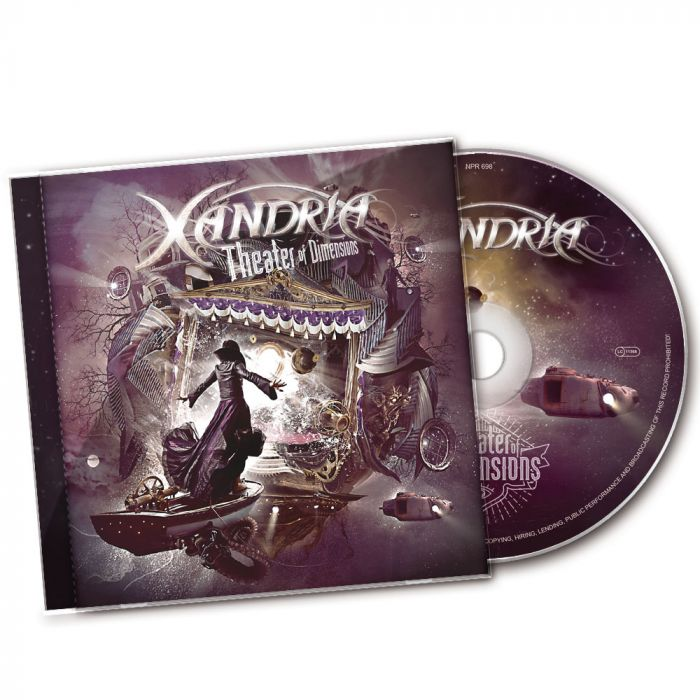 XANDRIA-Theater Of Dimensions/CD