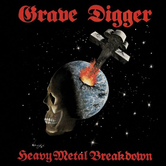 GRAVE DIGGER - Heavy Metal Breakdown / LP