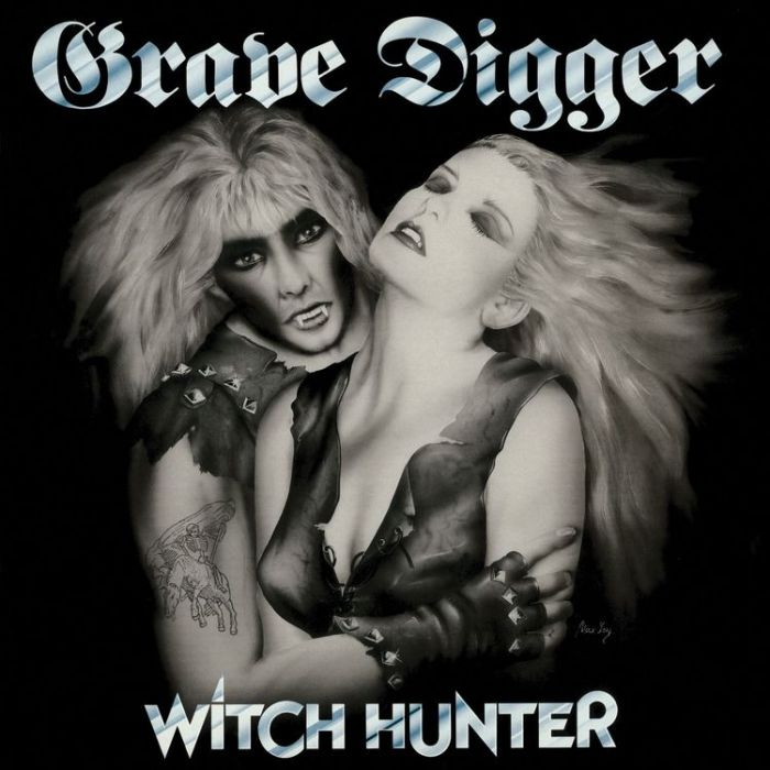 GRAVE DIGGER - Witch Hunter / Gold LP
