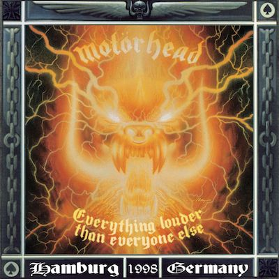 MOTORHEAD - Everything Louder Than Everyone Else / 3LP