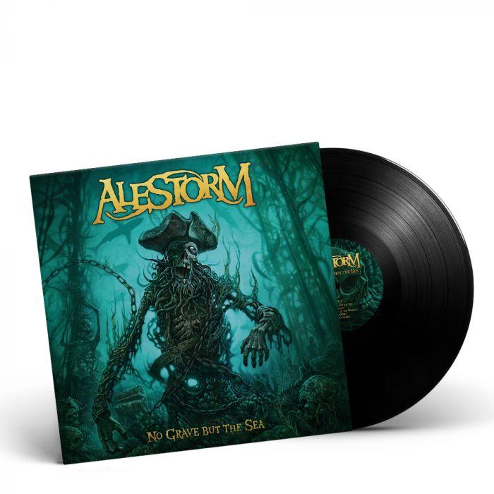 ALESTORM - No Grave But The Sea/Limited Edition BLACK LP