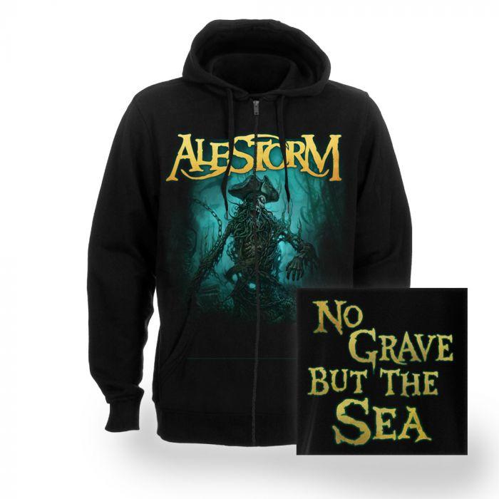 ALESTORM-No Grave But The Sea/ZIP HOODIE