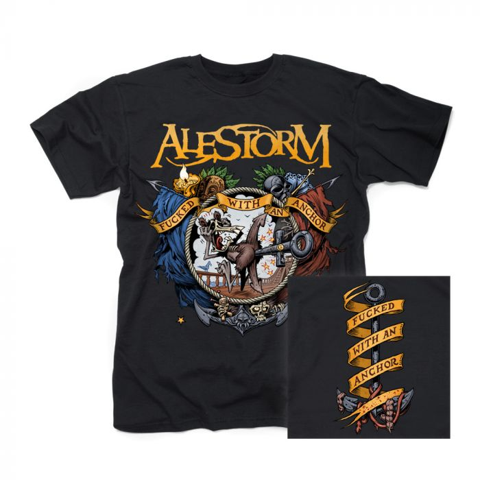 ALESTORM-Fucked With An Anchor/T-Shirt