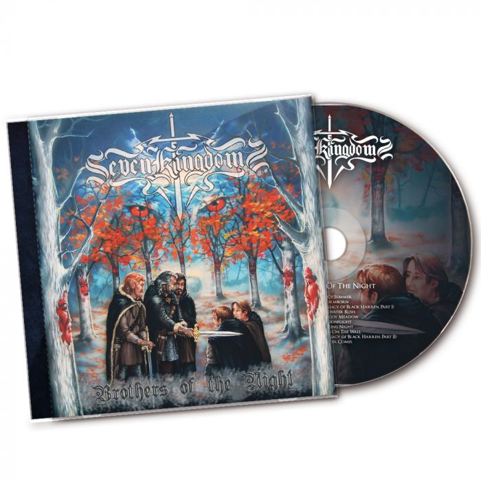 SEVEN KINGDOMS-Brothers Of The Night/CD