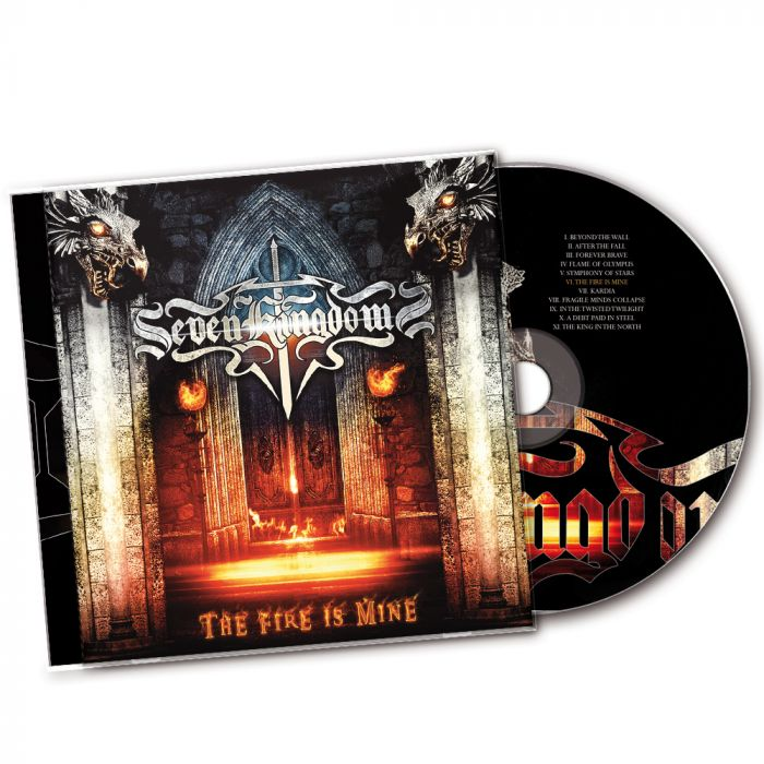 SEVEN KINGDOMS-The Fire Is Mine/CD
