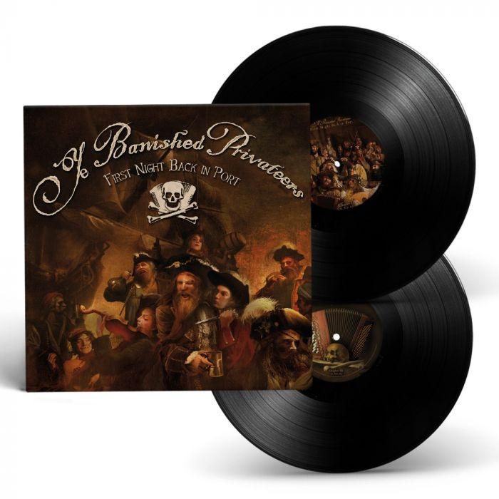 YE BANISHED PRIVATEERS-First Night Back In Port/Limited Edition BLACK gatefold 2LP