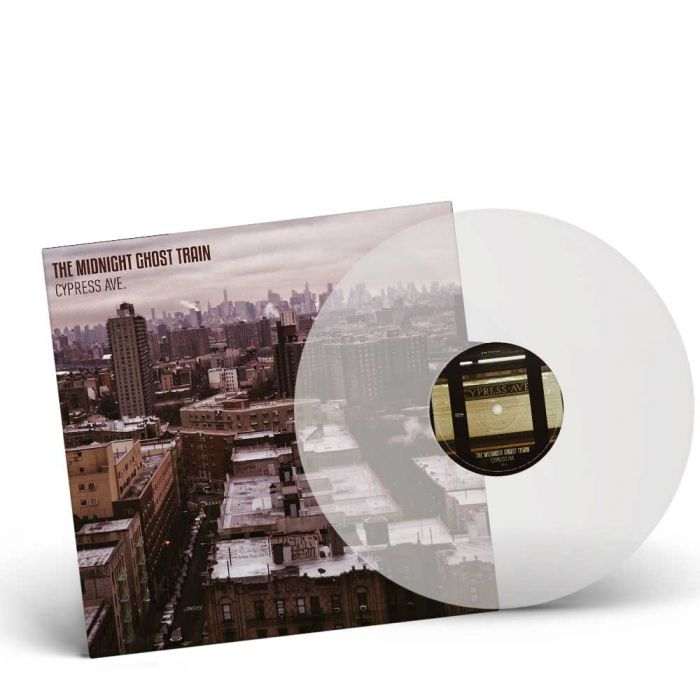 THE MIDNIGHT GHOST TRAIN-Cypress Ave/Limited Edition CLEAR Vinyl Gatefold LP