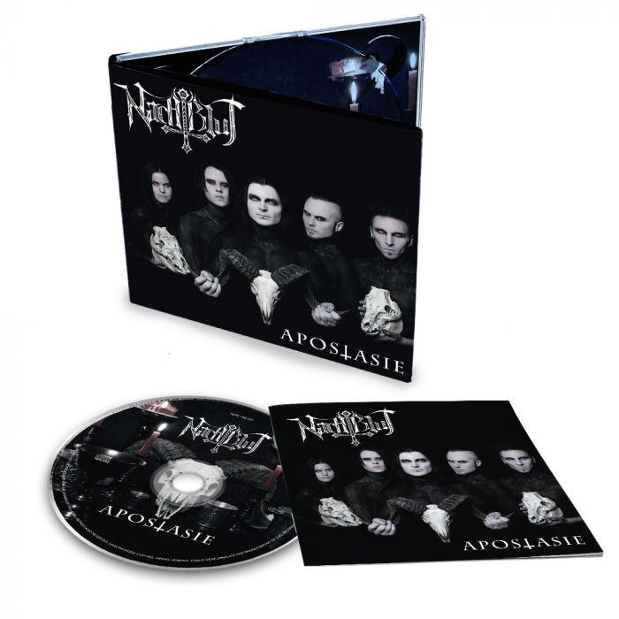 NACHTBLUT-Apostasie/Limited Edition Digipack CD