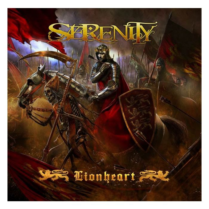 SERENITY-Lionheart/Limited Edition Digipack CD