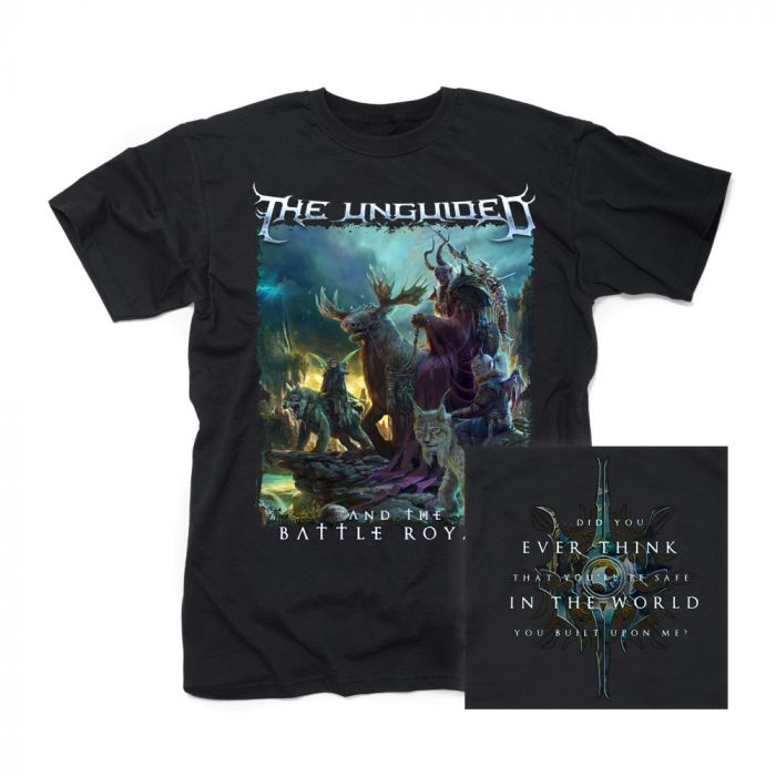 THE UNGUIDED-And The Battle Royale/T-Shirt