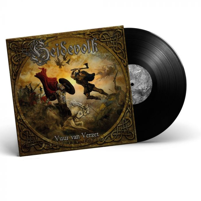HEIDEVOLK-Vuur Van Verzet/Limited Edition BLACK Vinyl LP
