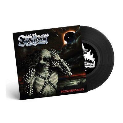 STÄLKER-Powermad/Limited Edition BLACK Vinyl 7inch EP