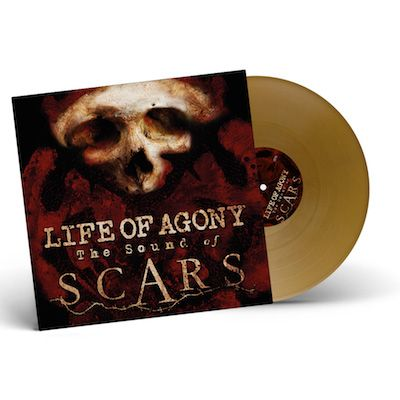 LIFE OF AGONY - The Sound Of Scars / GOLD LP