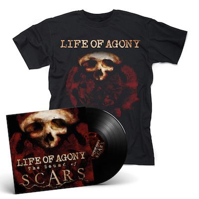LIFE OF AGONY - The Sound Of Scars / LP + Shirt Bundle