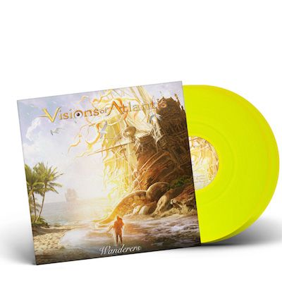 VISIONS OF ATLANTIS-Wanderers/Limited Edition NEON YELLOW Gatefold 2LP