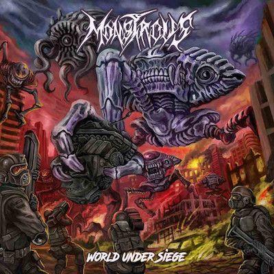 MONSTROUS - World Under Siege / CD