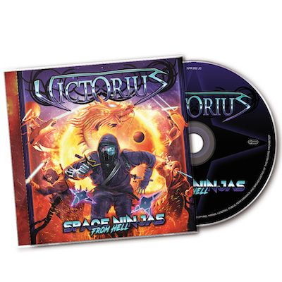 VICTORIUS - Space Ninjas From Hell / CD