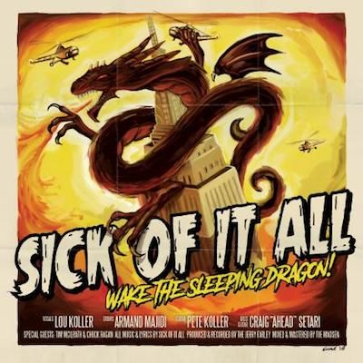 SICK OF IT ALL - Wake The Sleeping Dragon / LP