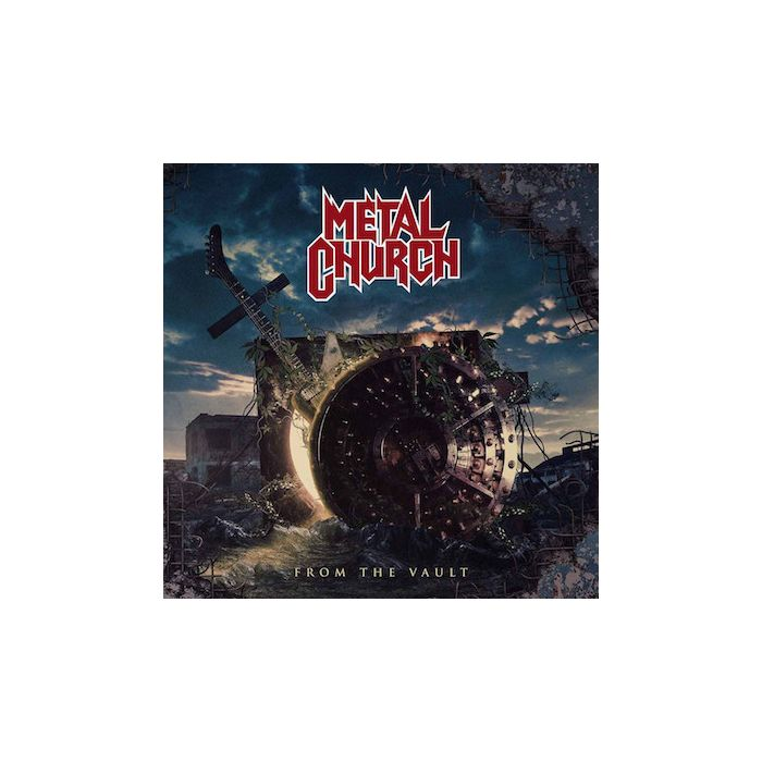 METAL CHURCH - From The Vault / NAPALM RECORDS EXCLUSIVE SILVER 2LP