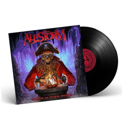 ALESTORM - Curse Of The Crystal Coconut / Gatefold BLACK LP