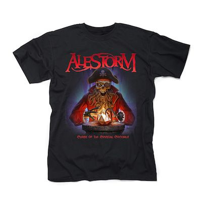 ALESTORM - Curse Of The Crystal Coconut / T-Shirt